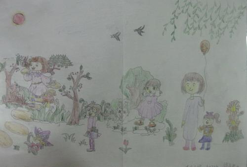 儿童画春天的图片大全【10张】(4)