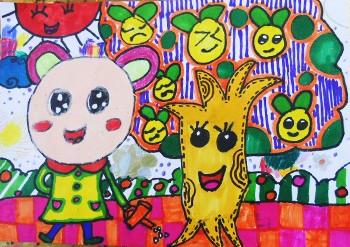 儿童画春天的图片大全【10张】(5)