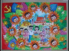 关于国庆节的儿童画图片 (52).jpg