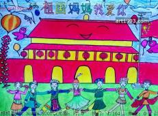 关于国庆节的儿童画图片 (24).jpg