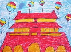 关于国庆节的儿童画图片 (28).jpg