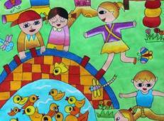 关于国庆节的儿童画图片 (38).jpg