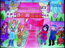 关于国庆节的儿童画图片 (6).jpg
