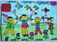 关于国庆节的儿童画图片 (12).jpg