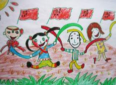 关于国庆节的儿童画图片 (40).jpg