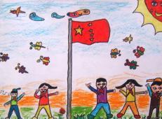 关于国庆节的儿童画图片 (27).jpg
