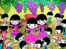 关于国庆节的儿童画图片 (13).jpg
