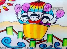 关于国庆节的儿童画图片 (15).jpg