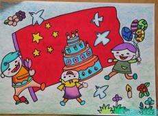 关于国庆节的儿童画图片 (16).jpg