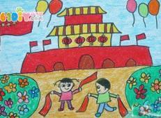 关于国庆节的儿童画图片 (21).jpg