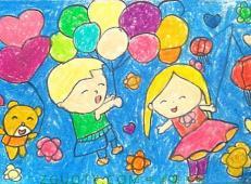 关于国庆节的儿童画图片 (18).jpg