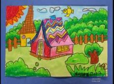 关于房子的儿童画图片 (48).jpg