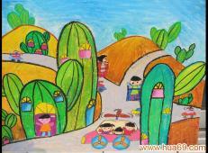 关于房子的儿童画图片 (42).jpg