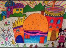 关于房子的儿童画图片 (39).jpg