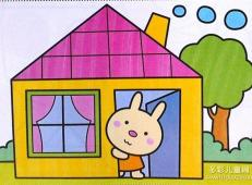 关于房子的儿童画图片 (23).jpg