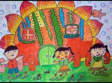 关于房子的儿童画图片 (27).jpg