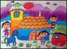 关于房子的儿童画图片 (50).jpg