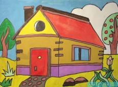 关于房子的儿童画图片 (8).jpg