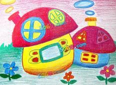 关于房子的儿童画图片 (25).jpg