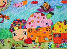 关于房子的儿童画图片 (44).jpg