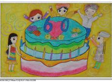 关于生日的儿童画图片 (11).jpg