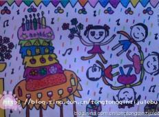 关于生日的儿童画图片 (38).jpg