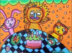 关于生日的儿童画图片 (32).jpg
