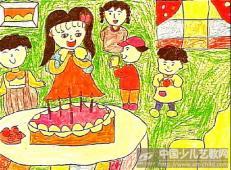 关于生日的儿童画图片 (13).jpg