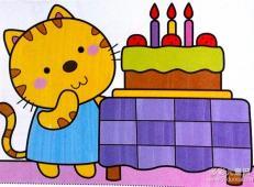 关于生日的儿童画图片 (17).jpg