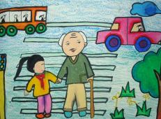 关于99重阳节(老人节)的儿童画图片大全 (3).jpg