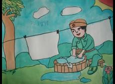 学雷锋做好事的儿童画画大全 (61).jpg