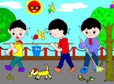 学雷锋做好事的儿童画画大全 (68).jpg