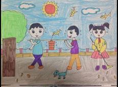 学雷锋做好事的儿童画画大全 (79).jpg