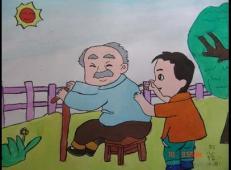 学雷锋做好事的儿童画画大全 (64).jpg