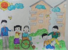 学雷锋做好事的儿童画画大全 (60).jpg