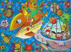 关于海底世界的儿童画大全59.jpg