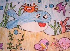关于海底世界的儿童画大全69.jpg
