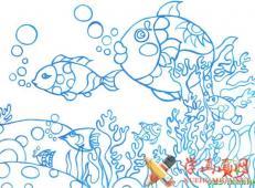 关于海底世界的儿童画大全68.jpg