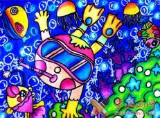 关于海底世界的儿童画大全12.jpg