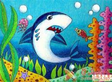 关于海底世界的儿童画大全21.jpg