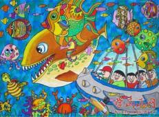 关于海底世界的儿童画大全13.jpg