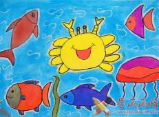 关于海底世界的儿童画大全10.jpg