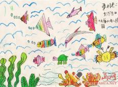 关于海底世界的儿童画大全67.jpg