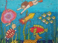 关于海底世界的儿童画大全74.jpg