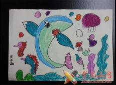 关于海底世界的儿童画大全78.jpg