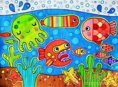 关于海底世界的儿童画大全45.jpg