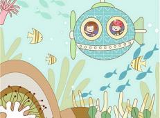 关于海底世界的儿童画大全54.jpg
