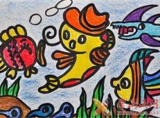 关于海底世界的儿童画大全66.jpg