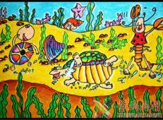关于海底世界的儿童画大全84.jpg