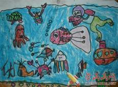 关于海底世界的儿童画大全32.jpg